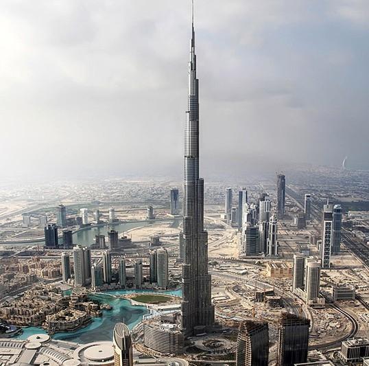 世界最高楼迪拜塔将完工 英媒体提前曝光内部图