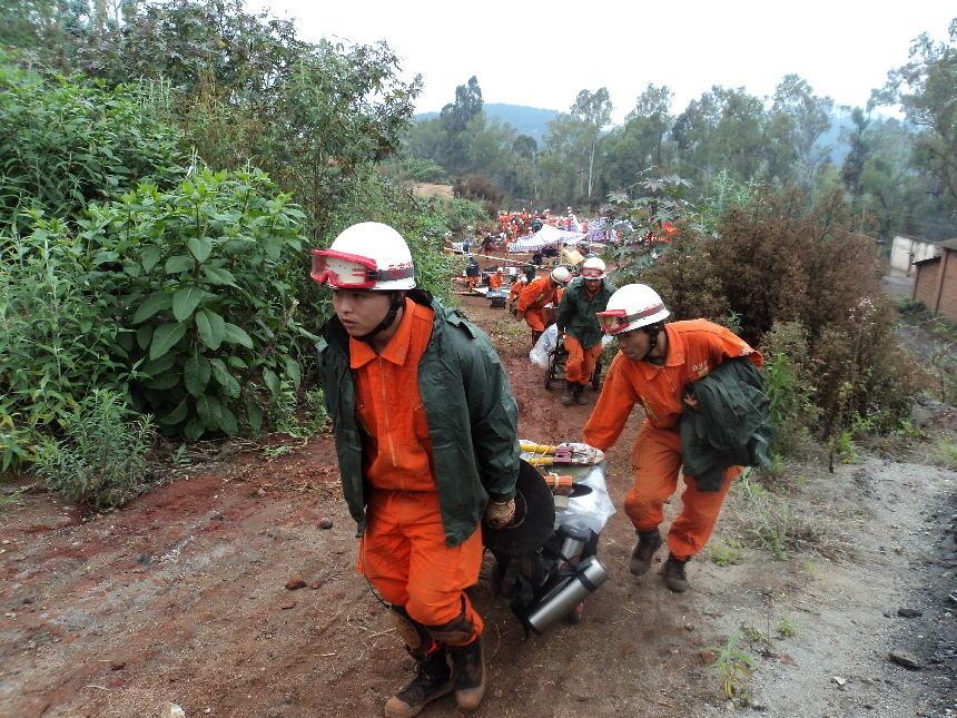 红河石屏发生 强震 滇南5州市消防官兵紧急救援图片