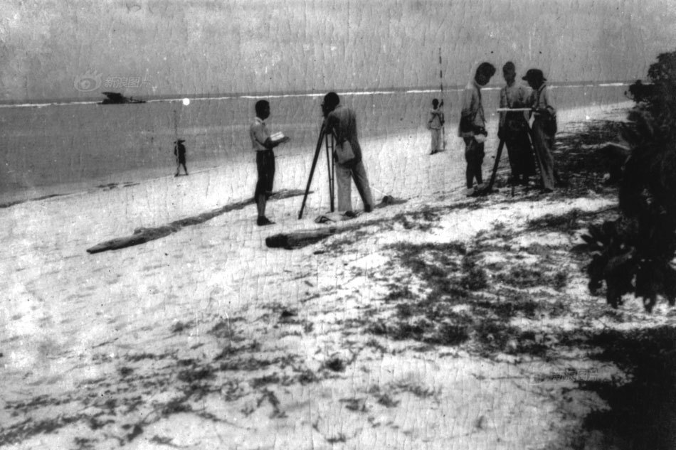 在此次收复西沙,南沙群岛的工作中,国民政府特派遣有关部门的代表随同