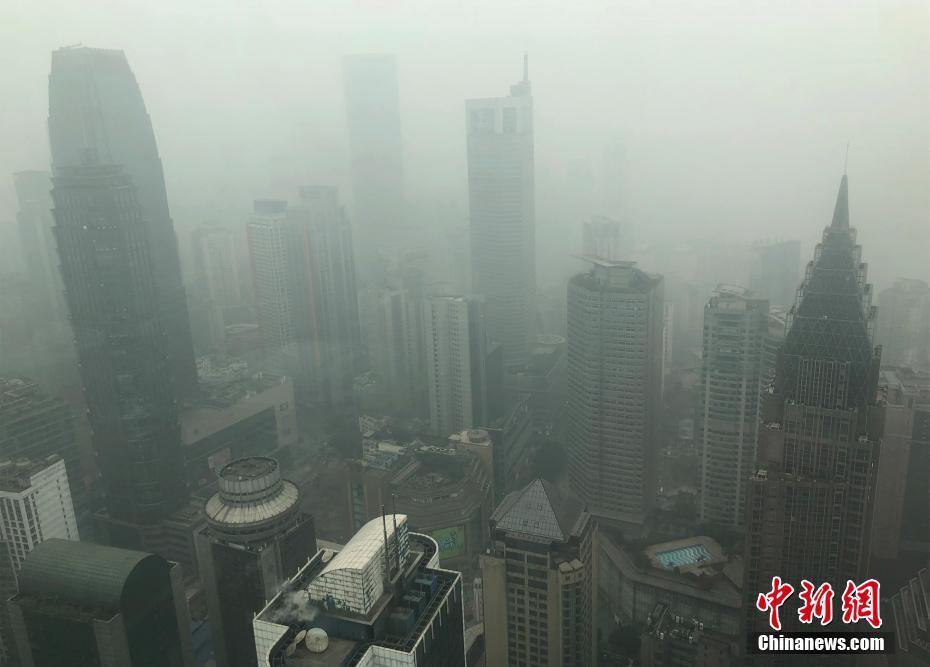 电子游戏新网址:重庆主城被大雾笼罩_空气质量中度污染
