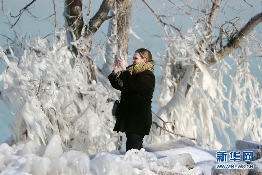 """(国际)(1)""""冰冻""""芝加哥"""